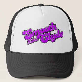 Gorra púrpura del camionero del logotipo de SLC