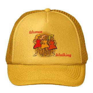 Gorra que camina de las mujeres