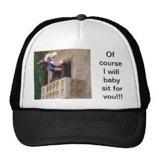 gorra que se sienta del bebé