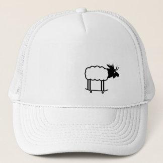 Gorra radical del tucker del cordero de los alces