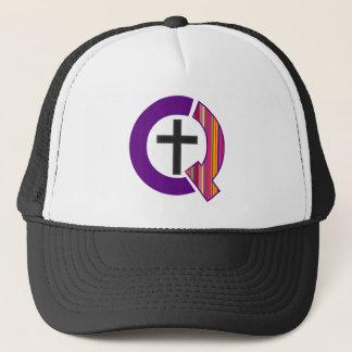 Gorra raramente cristiano del logotipo