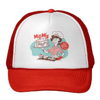 Gorra retro del día de madre de la panadería de la