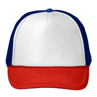 Gorra rojo/blanco/azul del camionero