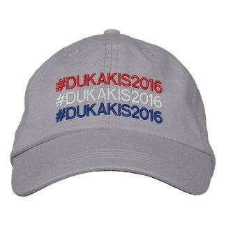 Gorra rojo, blanco, y azul de la firma de Hashtag