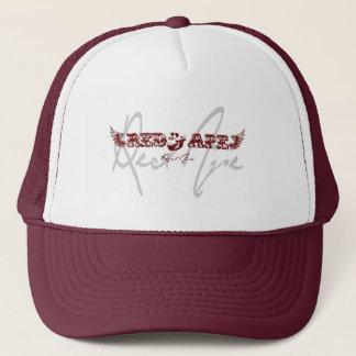 Gorra rojo Borgoña del camionero de la música del