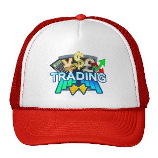 Gorra rojo comercial del camionero