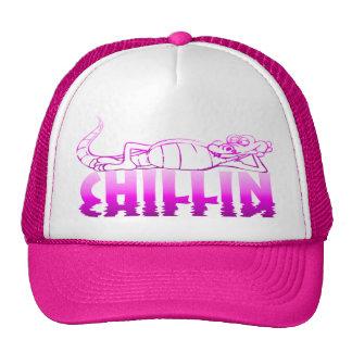 Gorra rosado de Chillin