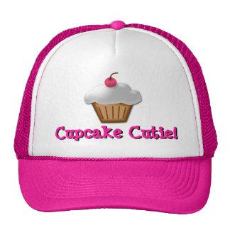 Gorra rosado de Cutie de la magdalena
