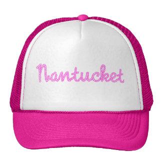 Gorra rosado de Nantucket