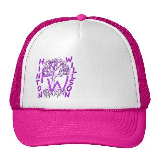 Gorra rosado del camionero de las mujeres
