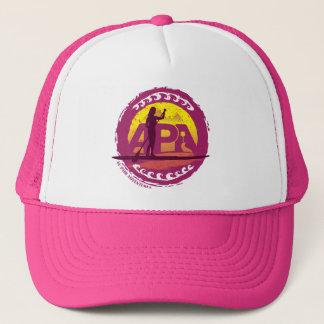 Gorra rosado del sello