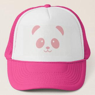 Gorra rosado lindo y mimoso del camionero de la