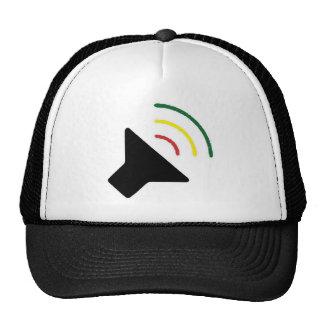 Gorra ruidoso del reggae