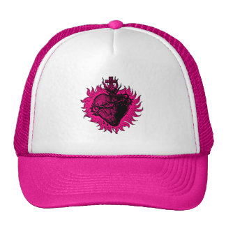 Gorra sagrado para mujer del corazón
