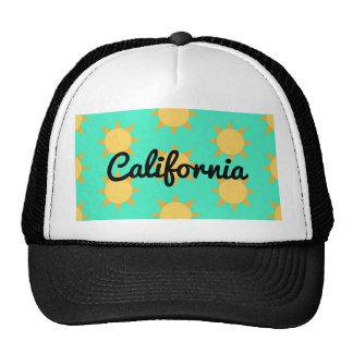 Gorra soleado clásico del camionero de California