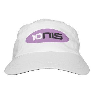 Gorra tejido blanco del tenis para los chicas de gorra de alto rendimiento