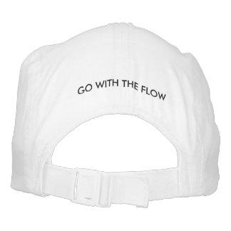 Gorra tejido del funcionamiento: Vaya con el flujo Gorra De Alto Rendimiento