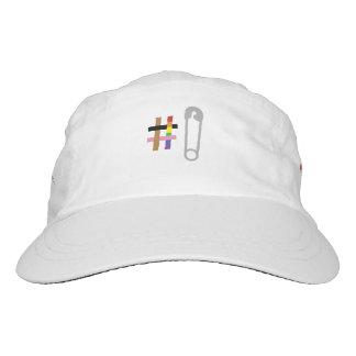 Gorra tejido #SafetyInNumbers del funcionamiento