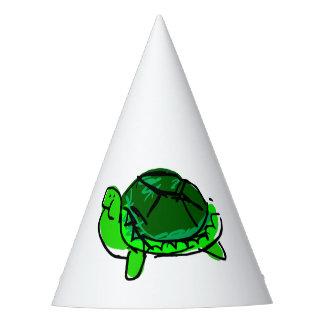 Gorra tonto del fiesta del Doodle de la tortuga