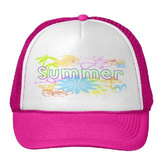 Gorra tropical del verano