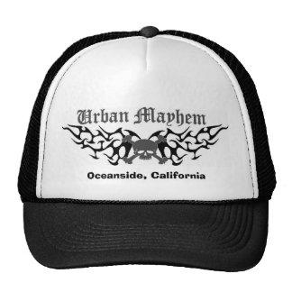 Gorra urbano de la mutilación