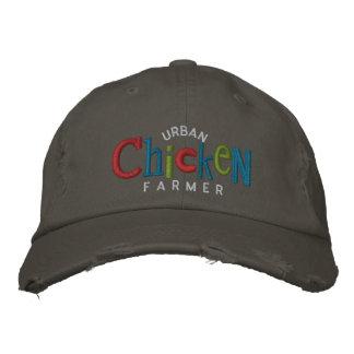 Gorra urbano del bordado del granjero del pollo gorras de beisbol bordadas