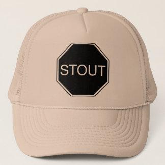 Gorra valiente del camionero de la cerveza