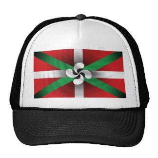Gorra vasco de la bandera