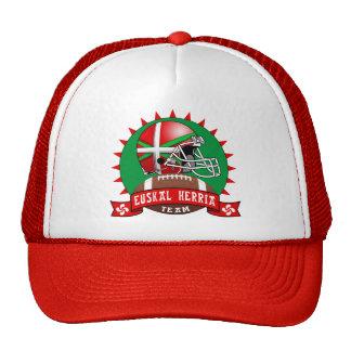 Gorra vasco del fútbol