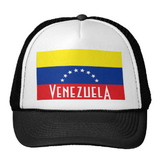 Gorra venezolano del meshsouvenir del camionero de