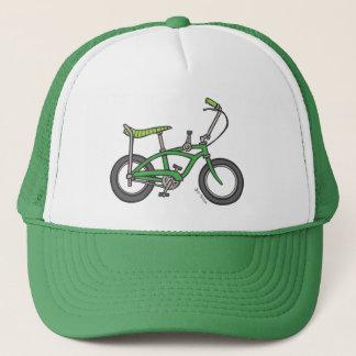 Gorra verde de la bici de Seat del plátano