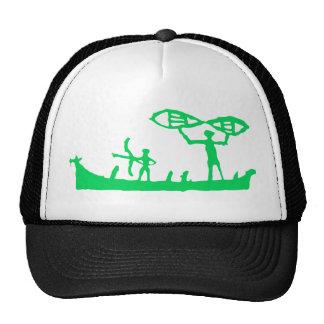 Gorra verde de Viking
