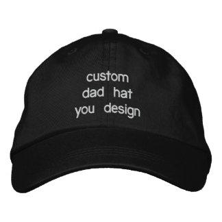 Gorras ajustables personalizados personalizado del