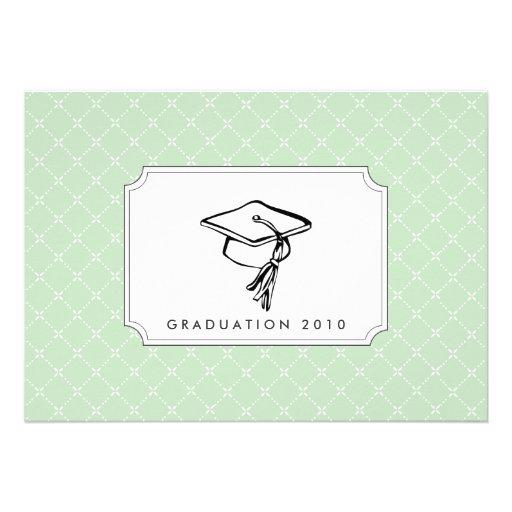 {gorras apagado a usted} invitación de la graduaci
