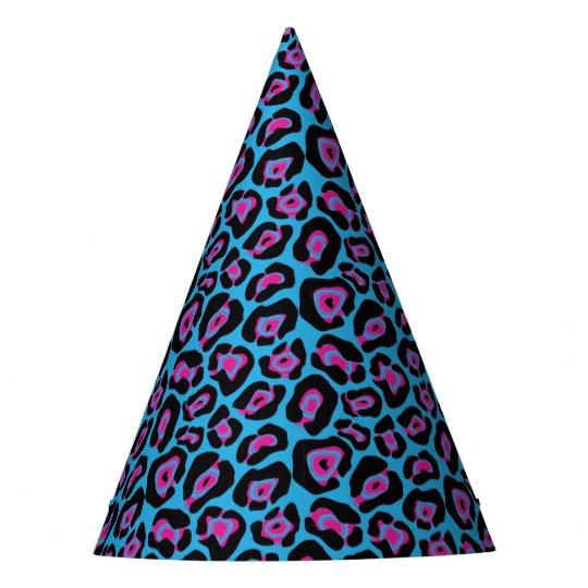 Gorras azules y rosados elegantes del fiesta del