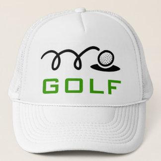 Gorras blancos del golf para los hombres y las
