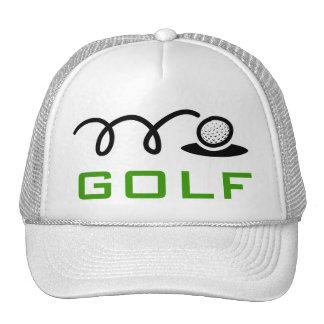 Gorras blancos del golf para los hombres y las muj