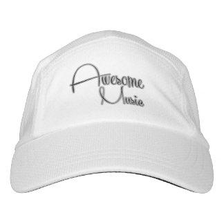 Gorras de AwesomeMusic (blancos) Gorra De Alto Rendimiento