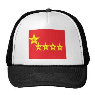 gorras de China