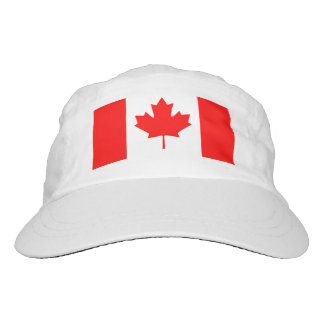 Gorras de punto o tejidos de la bandera canadiense gorra de alto rendimiento