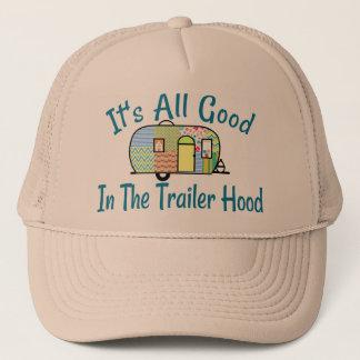 Gorras del campista de la capilla del remolque