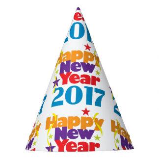 Gorras del fiesta de la Feliz Año Nuevo 2017