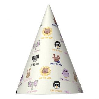 Gorras del fiesta del Ani-amigo-imals del bebé de