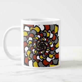 """""""Gorras del fractal """" Taza De Café Gigante"""