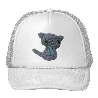 Gorras del gatito de Amigurumi