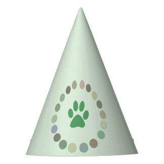 Gorras del papel del fiesta del bebé del safari