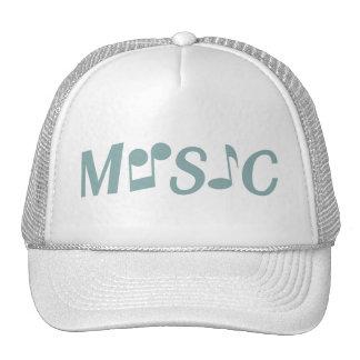 Gorras del personalizado de la MÚSICA