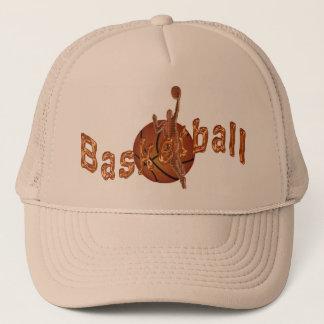 Gorras planos de Bill del baloncesto de cobre
