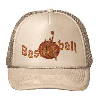 Gorras planos de Bill del baloncesto metálico de c