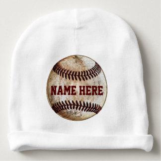Gorras recién nacidos personalizados del béisbol gorrito para bebe
